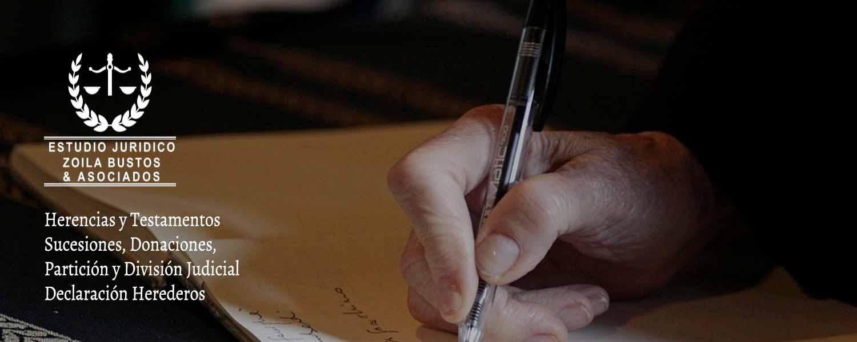 Herencia y Testamentos, Sucesiones, Donaciones, Partición y División Judicial, Declaración Herederos